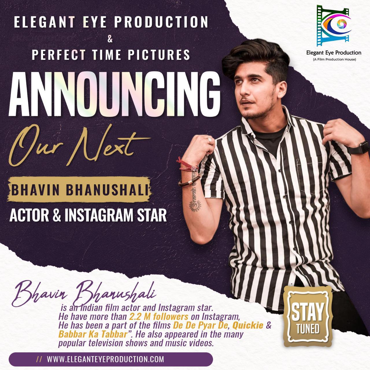 Announcing Our Next - Bhavin Bhanushali