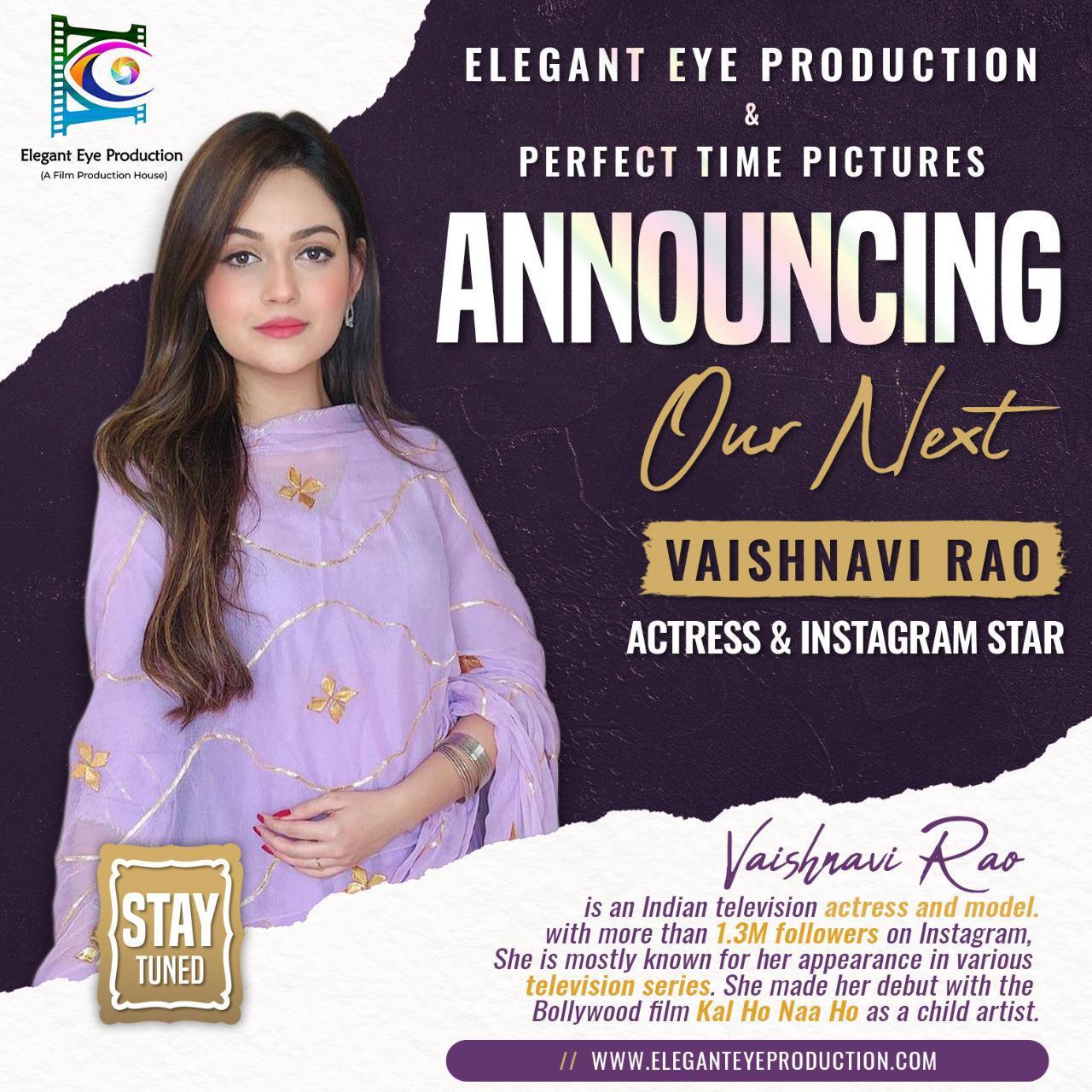 Announcing Our Next - Vaishnavi Rao