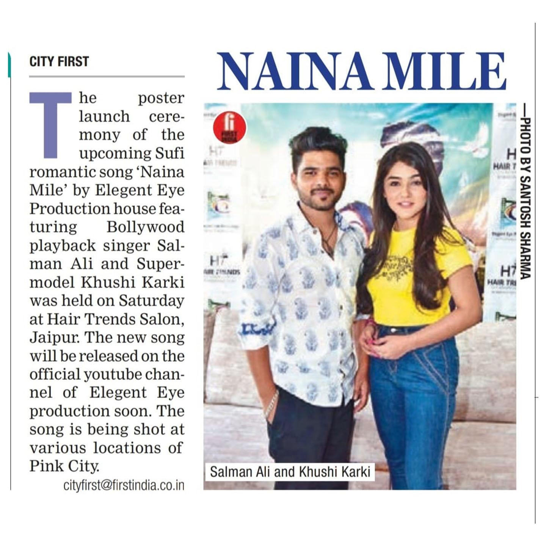 Naina Mile Song News 2